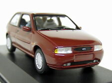 Minichamps 1/43 Scale - Ford Fiesta 16v Mk4 Dark Red Diecast model Car