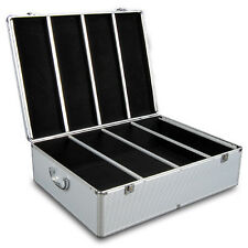 Aluminium CD DVD Bluray Storage Case Box 1000 Discs SL