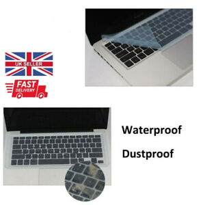 "Keyboard Cover Silicone Protector Film Laptop 13"" 14"" 15"" Dust and Waterproof"