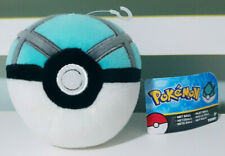 Pokemon Net Ball Plush Toy w/ Swing Tag Pokeball Nintendo Gamefreak 12cm Tall!