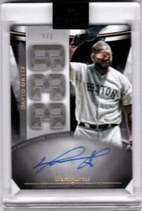 DAVID ORTIZ 2021 Topps Luminaries Autograph Auto #1/1 True One of One RED SOX