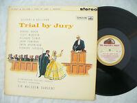 GILBERT & SULLIVAN LP TRIAL BY JURY stereo cream gold hmv asd 419 N/M.... 33rpm