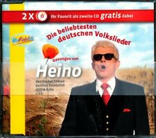 Die beliebtesten deutschen Volkslieder gesungen von Heino - CD