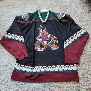Adidas Vintage Authentic Phoenix Coyotes Jersey Kachina 52 Men