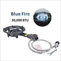 30,000 BTU Outdoor Camping Burner Stove Low Pressure Cast-Iron Propane Gas Stove