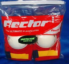VINTAGE RECTOR ELBOW PADS TOP QUALITY SIZE M  NEW IN THE BAG