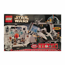'LEGO Star Wars 7754 Mon Calamari New in Sealed Creased Box Retired 6 minifigs' from the web at 'https://i.ebayimg.com/thumbs/images/g/zecAAOSwUV9WoRgb/s-l225.jpg'
