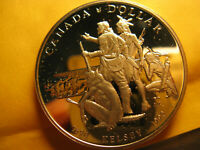 Canada  Rare 1990 Silver Dollar Gem Proof Beauty IDJ318.