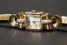 Mechanisch-(Handaufzug) Armbanduhren mit 12-Stunden-Zifferblatt und Quadrat für Herren