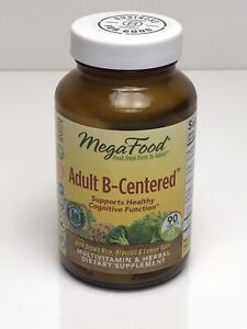 Adult B Centered Megafood 90 Tablets Multivitamin & Herbal Dietary Supplement