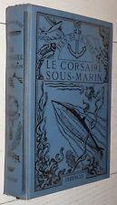 FERENCZI 1936-1937 SUPERBE RELIURE CORSAIRE SOUS-MARIN JEAN DE LA HIRE