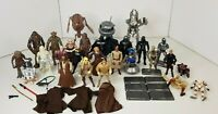 "Star Wars Figure Bundle Hasbro 3.75"" Droids, Luke, Darth Vadar and More"