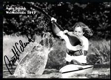 Anett Schuck Autogrammkarte Original Signiert Rudern + A 84892