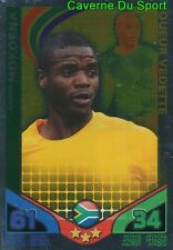 MOKOENA # SOUTH AFRICA CARD JOUEUR VEDETTE MATCH ATTAX STARS MONDIALE 2010 TOPPS