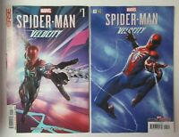 Marvel Comics Spider-Man Velocity 1 Main + Gabriele Dell'Otto Variant NM