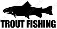 Fishing, Trout, Fly Fishing, Trout Fishing, Window Sticker, Car Decal, Decal