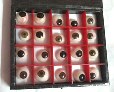 Eyes Artificial Prosthetic Set 20 Peices Realistic Human Natural Eye Mix Colour