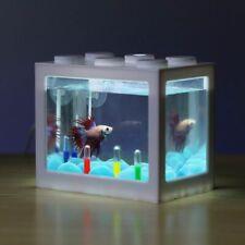 Mini Aquarium Fish Fighting Cylinder Rumble Building Block Style Small New Cute