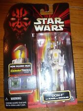 OOM-9 with CommTech Chip Star Wars Episode 1 Hasbro 1998 NIP