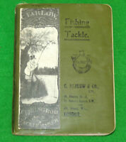 C Farlow London 1912 anglers guide catalogue rare 4 collector