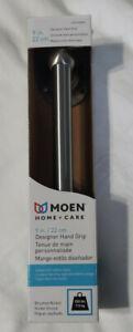 Moen LR2250DBN 9-Inch Home Care Designer 9-Inch Hand Grip, Brushed Nickel