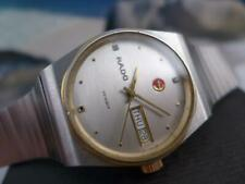 Elegant Simplicity RADO Voyager S/S  Mens/Ladies Day/Date Automatic 35mm