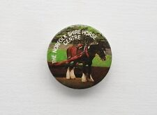 VINTAGE THE NORFOLK SHIRE HORSE CENTRE METAL PIN BADGE BUTTON