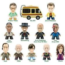 BREAKING BAD VINYL FIGURES FROM TITANS SERIES 1 FULL SET OF 12 + 4 RARE CHASE
