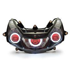 KT for Honda CBR954RR 2002-2003 Headlight Assembly LED Angel Demon Projector Kit
