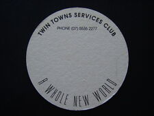 TWIN TOWNS SERVICES CLUB IMAGES A WHOLE NEW WORLD 07 55362277 COASTER