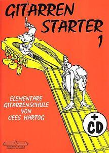 Gitarrenstarter 1 (+ CD) Cees Hartog