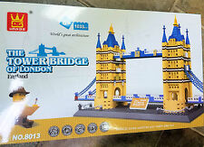 Lego® Compatible Architect Series Tower Bridge Blocks 1033 pcs FREE US SHIP