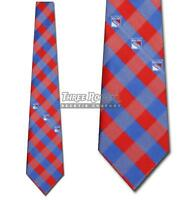 New York Rangers Tie Rangers Neckties Mens Licensed Hockey Neck Ties NWT