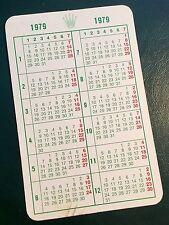 1979 VINTAGE ROLEX calendario DAYTONA 1675 1019 1680 6263 1665 6265 5513 1655 OEM