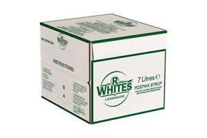 7ltr R Whites Lemonade Bag In Box (Post Mix) - Minimum 2 months date!