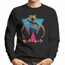 Pretty Soldier Sailor Moon 80s Men's Sweatshirt