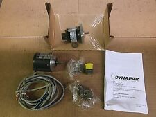 Dynapar Encoders Eltra 58mm Diameter EH58 EH58C400S5910X3PR3 1/4 Shaft 5-26V