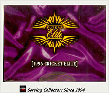Cricket Card Box--1996 Futera Cricket Elite Trading Cards Factory Box (24 packs)