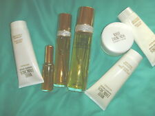 WHITE DIAMONDS ELIZABETH TAYLOR TOILETTE SPRAY 3.3 CREAM BODY WASH LOT fragrance