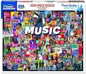 1000 piece jigsaw puzzle     Music    760mm x 610mm   (wmp)