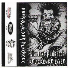 Klartext Punkrock / Krückenkrieger - Split [Tape][MBU]
