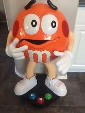 Rare Orange M&M Character Store Display- 3ft Tall