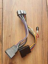 JVC últimas 2017 Coche Radio Estéreo 16 Pin arnés de cableado Telar ISO Kd-X342bt