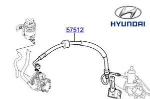 Genuine Hyundai Tucson Power Steering Hose - 575102E390