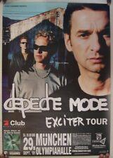 Depeche Mode Poster Exciter Tour Germany Munchen September 29 2001