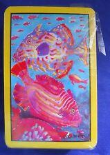 Florida Tropical Fish  Agiftcorp Souvenir Playing Cards Deck