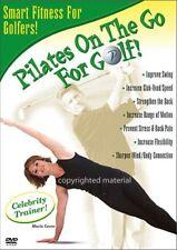 Pilates On The Go For Golf (DVD, 2003) Maria Leone