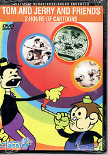 MAKE OFFER FREE SHIP Tom and Jerry and Friends DVD NiB ! Cartoon