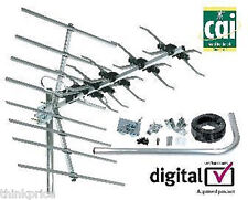 Outdoor TV Aerial Freeview HD 32 Ultra Wide Band Kit