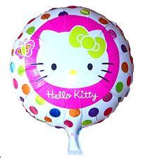 Hello Kitty 45cm round Foil Balloon, Girls Birthday Party Decoration